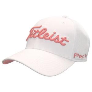 Titleist Golf Tour Sport Mesh Fitted Hat,  Brand New