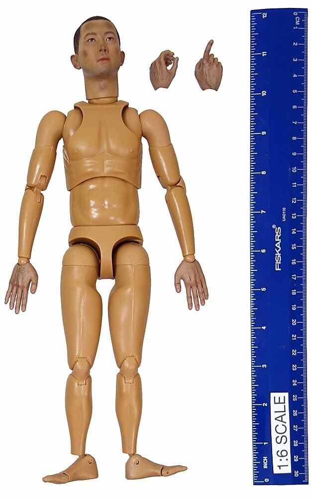 WWII IJA Pvt. Takuya Hayashi - Nude Figure - 1 6 Scale - 3R Action Figures