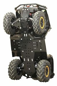 Can Am Outlander 1000 Xmr >> Details About Canam Outlander Max Xmr 800 850 1000 G2 Hdpe Plastic Skid Plate Kit Iron Baltic
