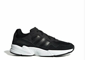 online retailer 7ef64 db9b6 Image is loading adidas-Originals-Yung-96-Casual-Core-Black-Core-