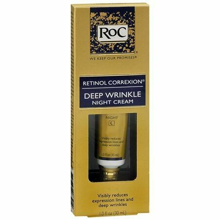 ROC RETINOL CORREXION DEEP WRINKLE NIGHT CREAM 1.0 OZ
