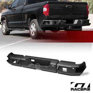 For 2014-2021 Toyota Tundra Black RT Style Modular Full Width Steel Rear Bumper