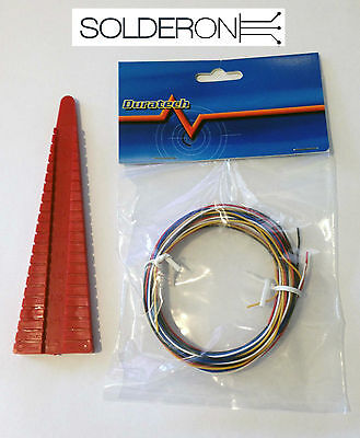 Component Lead Forming Tool and Solid Core Breadboard Wire Kit - AU STOCK