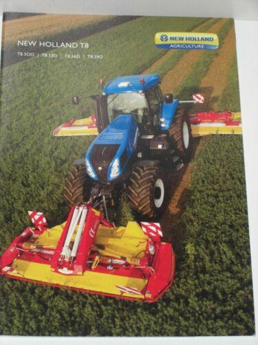 NEW HOLLAND T8 Traktoren Prospekt von 01//2011 NH 58