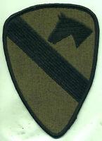 Vietnam Era Us Army 1st Cavalry Patch Od Subdued