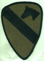 Vietnam Era Us Army 1st Cavalry Patch Od Subdued