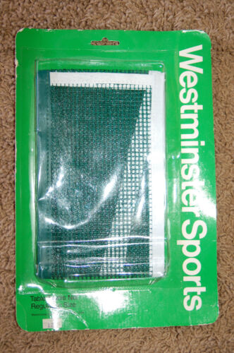 NEW Westminster Sports Table Tennis Net Regulation Size LQQK Free Shipping!