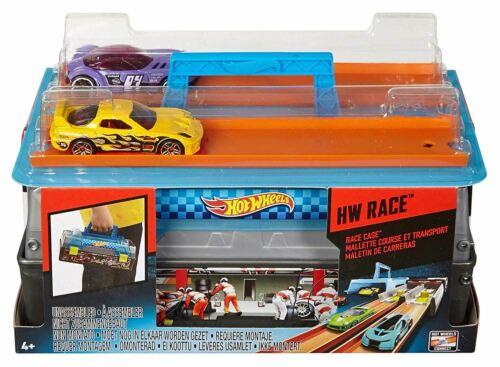 Hot Wheels Caja de carreras de coches Pista Lanzador Juguete Juegp