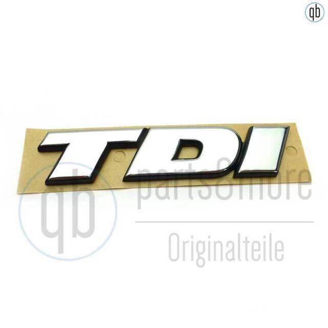 selbstklebend 7D0853675C hinten blaues /'I/' VW Bus T4 Schriftzug TDI chrom