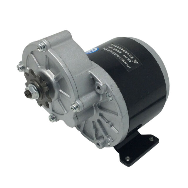 MY1016Z3 DC Gear Motor 24V 350 Watt Brushed Motor with 9 Teeth Sprocket for Bike