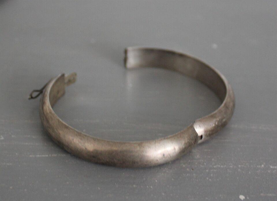 Armring, sølv, fransk vintage - Sterling sølv stempel