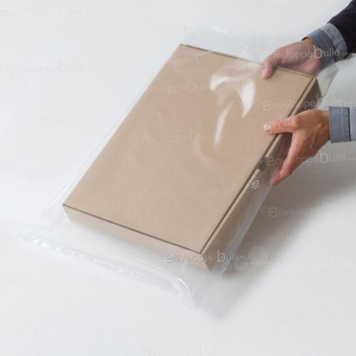 Sachets plastiques transparents SANS fermeture épaisseur solide 100µ