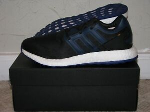 71b6e8a06 Y-3 Pureboost Black   Blue Mens Size 9.5 DS NEW! BY8956 Yamamoto ...