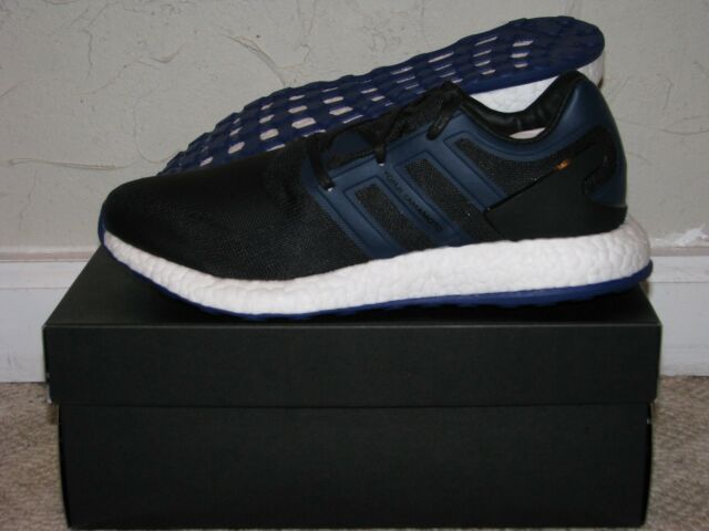 92ceafe932be9 Y-3 Pureboost Black   Blue Mens Size 9.5 DS NEW! BY8956 Yamamoto adidas