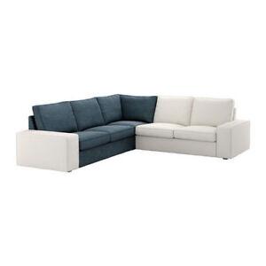 Image Is Loading Parts Of IKEA Kivik Sofa Corner Section Cover