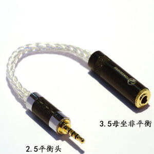 2-5mm-TRRS-Balanced-Male-to-3-5mm-Stereo-Female-Earphone-Audio-Adapter-Cable