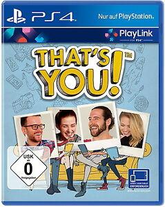 That's You (Sony PlayStation 4, 2017), PlayLink, NEU - Berlin, Deutschland - That's You (Sony PlayStation 4, 2017), PlayLink, NEU - Berlin, Deutschland