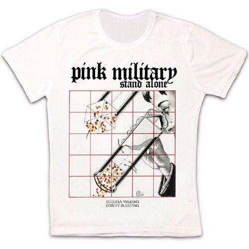 Rose militaire autonome Bouddha éveil DISNEY sleeping Rétro Unisexe T-shirt 1196
