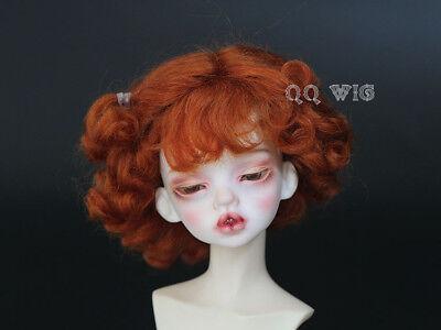 """; 1//4 QQ-59B   BJD Doll  *snoky* Mohair Wig 1//8 7-8/"""" 4-5/"""" ;1//6 6-7/"""""""