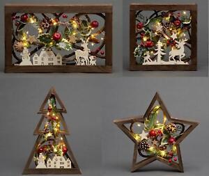 Christmas light up frame