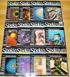 Spektrum-der-Wissenschaft-1995-komplett-Jahrgang-Sammlung-Zeitschrift-Science
