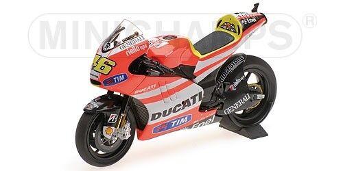 Ducati Desmosedici Gp 11.2 Valentino Rossi MotoGP 2011 1 12 Model MINICHAMPS