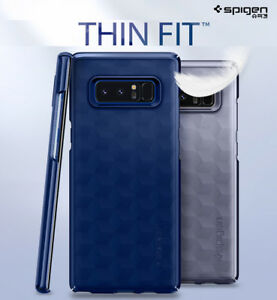 innovative design 4f935 ec8ca Details about Spigen Thin Fit Slim Hard PC Protective Cover For Samsung  Galaxy Note 8 Case
