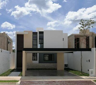 Casa en venta Privada Ya´ax-Beh (Mod D) Cholul, Mérida Yucatán