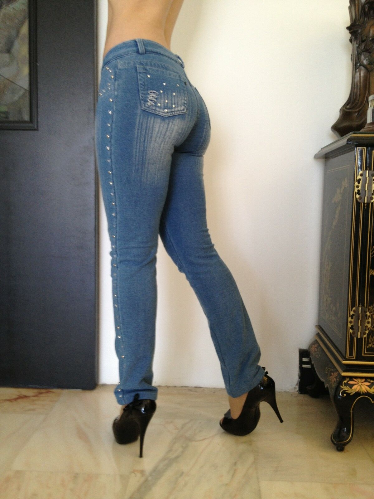 CLEARANCE JOB LOT  10 PAIRS OF DESIGNER JEANS SERIOUS QUALITY BRAZILIAN last 10