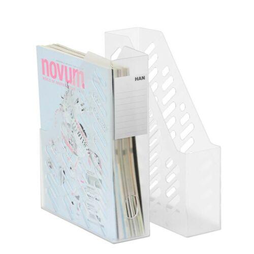 2 X HAN Klassik Stehsammler Stehordner Zeitschriftensammler Ablagesysteme Ablage