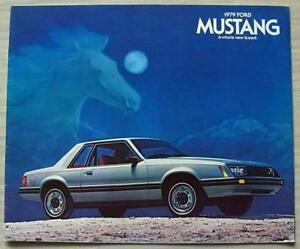1981 Ford Mustang Sales Brochure Coupe//Cobra//Ghia