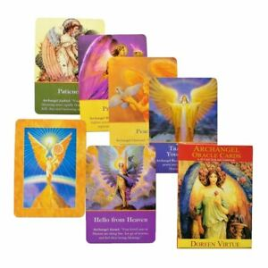 Magic-Archangel-Oracle-Cards-Earth-Fate-Tarot-Card-45-Card-Deck-With-Guidebook