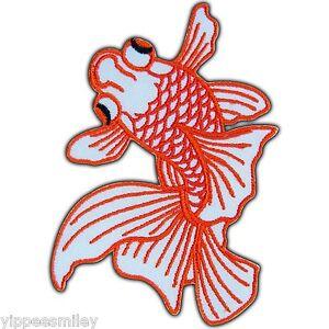 Goldfish koi carp fish lucky ornamental japan biker tattoo for Japanese ornamental fish