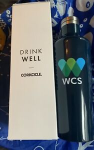 Great-New-Corkcicle-Classic-Collection-WCS-Canteen-BLUE-16-oz-NIB-free-ship