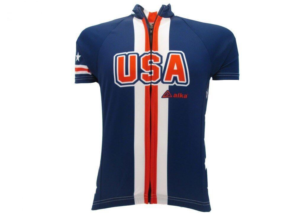 Maglia Skyline Progetto ciclismo Nazionale U.S.A. 100% Polyestere