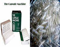 00 The Capsule Machine Filler Filling + 1,000 Capsule Connection Capsules