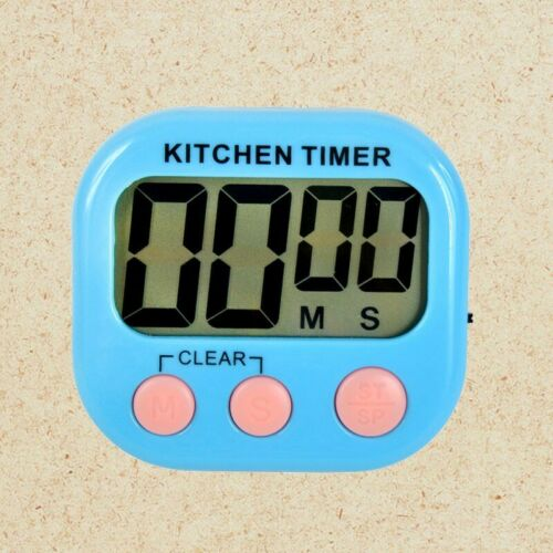 Kitchen Cooking LCD Digital Count Down Up Clock Loud Alarm Magnetic Timer