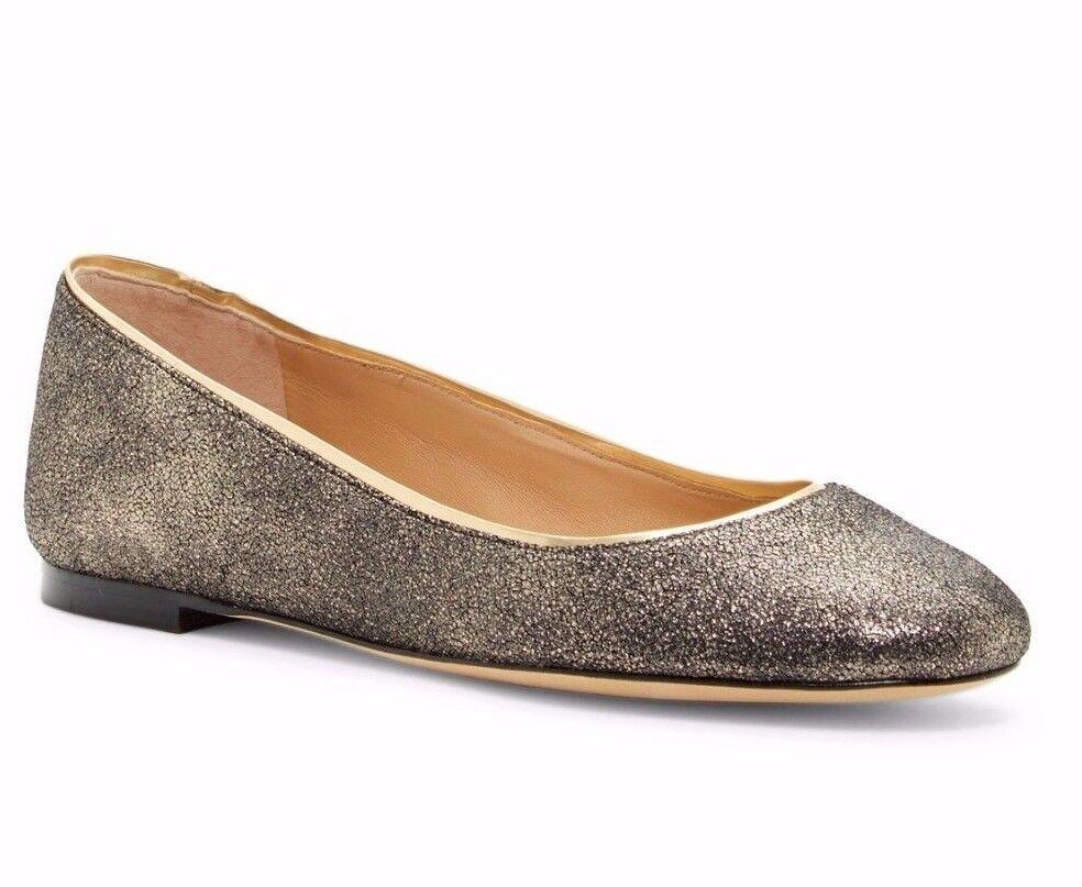 buon prezzo  228 Diane Diane Diane von Furstenberg Cambridge Ballet Flat Leather oro Dimensione 6.5  è scontato