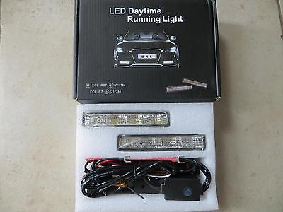 SET DE 2 FEUX DE JOUR DRL LED MERCEDES BENZ ML GL 450 CDI 350 320 300 AMG