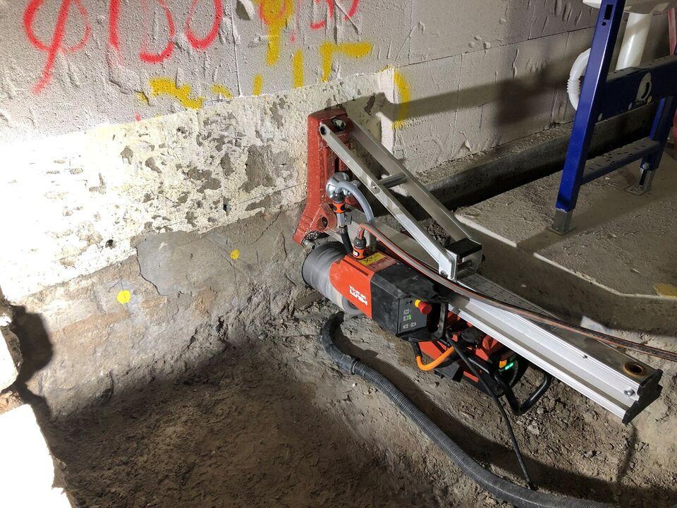 Diamantboring / betonboring
