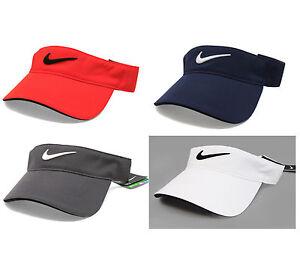 c56d74fee05 Image is loading New-Nike-Golf-Tech-Tour-Adjustable-Visor-Cap-