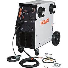 Hobart IronMan 230 230V Flux Cored/MIG Welder-250 Amp Output #500536