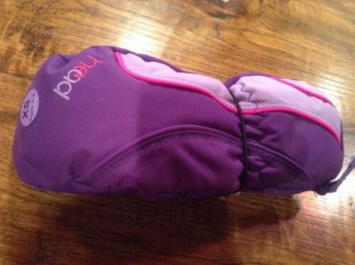 New w// Tags Head Mittens Purple Pink Dupont Sorona Insulated Girls Age 2-4Year
