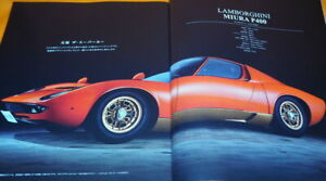 LAMBORGHINI-LIFE-MIURA-50-BOOK-from-Japan-Japanese-1064