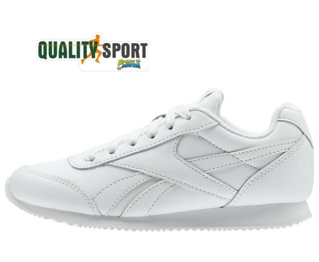 35d3a78e04d Reebok Royal Cl Jog 2 White Women s Shoes Boy Sports Sneakers V70492 2019