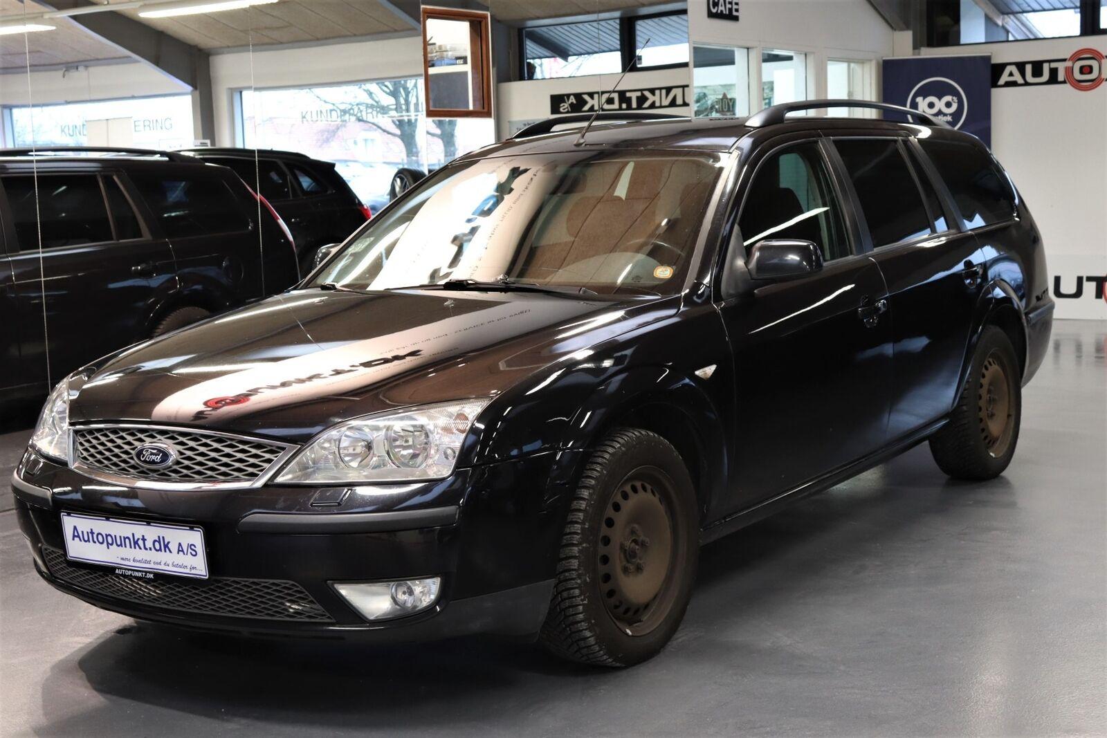 Ford Mondeo 2,5 170 Ebony stc. 5d - 14.700 kr.