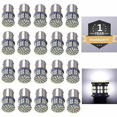 20 Pack Extremely Super Bright 1156 1141 1003 1073 BA15S 7506 50 SMD 3014 LED