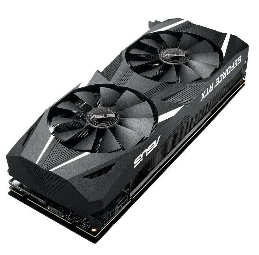 ASUS GeForce RTX 2070 DUAL OC EVO ASUS, 8 GB RAM, Perfekt