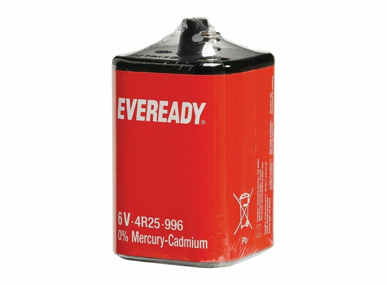 Battery 4r25 Zinc