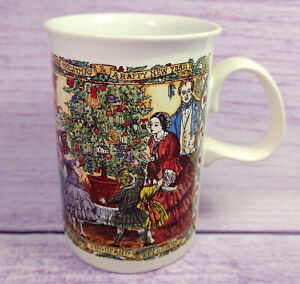 Dunoon-Stoneware-Christmas-Party-Cheer-Coffee-Mug-Cup-Happy-New-Year-Scotland